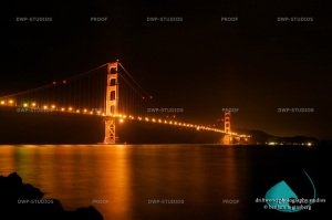 Golden Gate Bridge from Fort Point, San Francisco, CA ©Benjamin Ginsberg